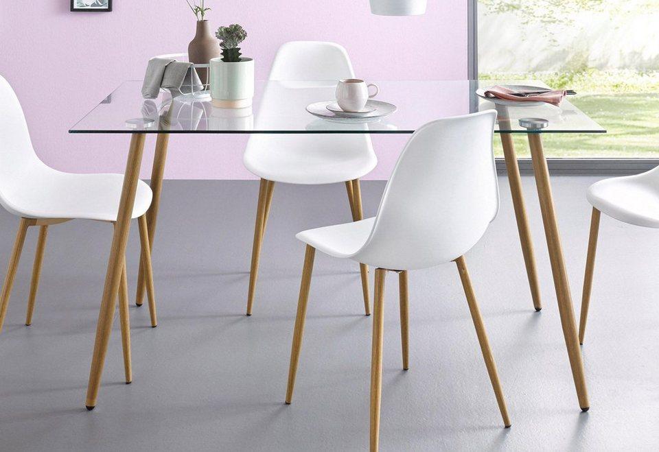 Glastisch breite 140 cm online kaufen otto - Otto glastisch ...