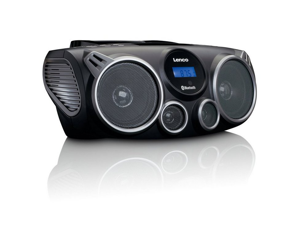 lenco dab fm radio mit cd mp3 usb sd und bluetooth. Black Bedroom Furniture Sets. Home Design Ideas
