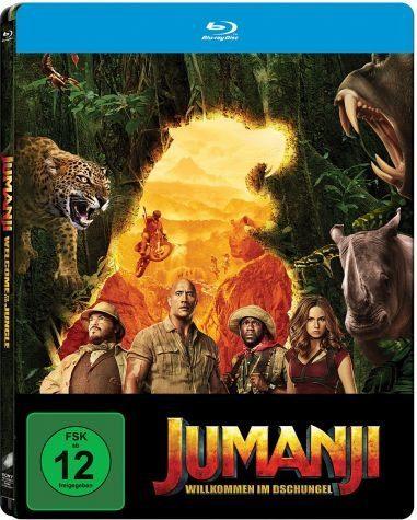 Blu-ray »Jumanji: Willkommen im Dschungel (Steelbook)«