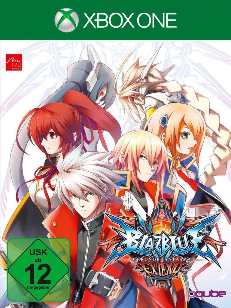PQube XBOX One - Spiel »BlazBlue Chrono Phantasma Extend«