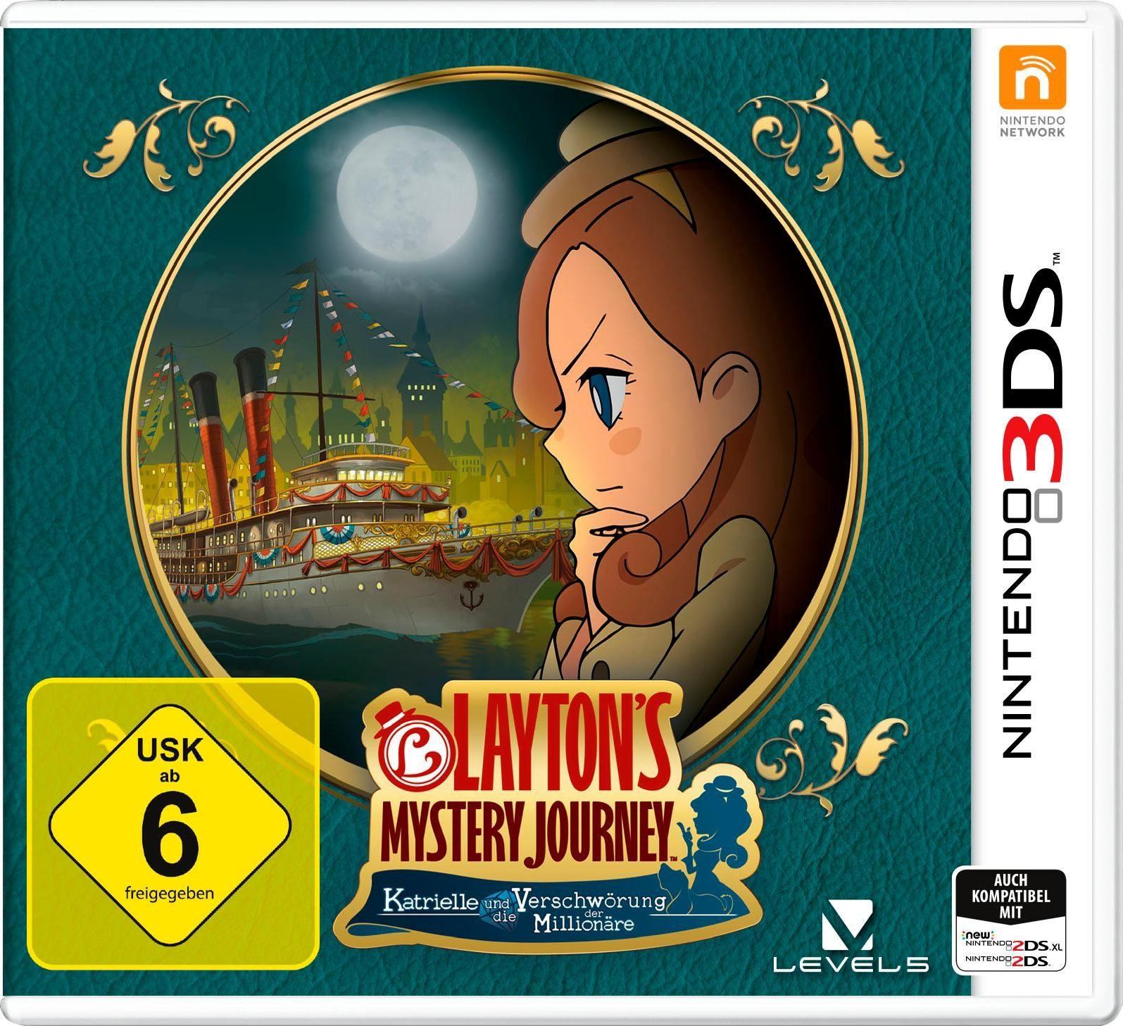 Layton`s Mystery Journey: Katrielle und die Verschwörung der Millionäre Nintendo 3DS