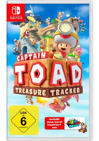 NINTENDO SWITCH Captain Toad: Treasure laikrodis Ninte...