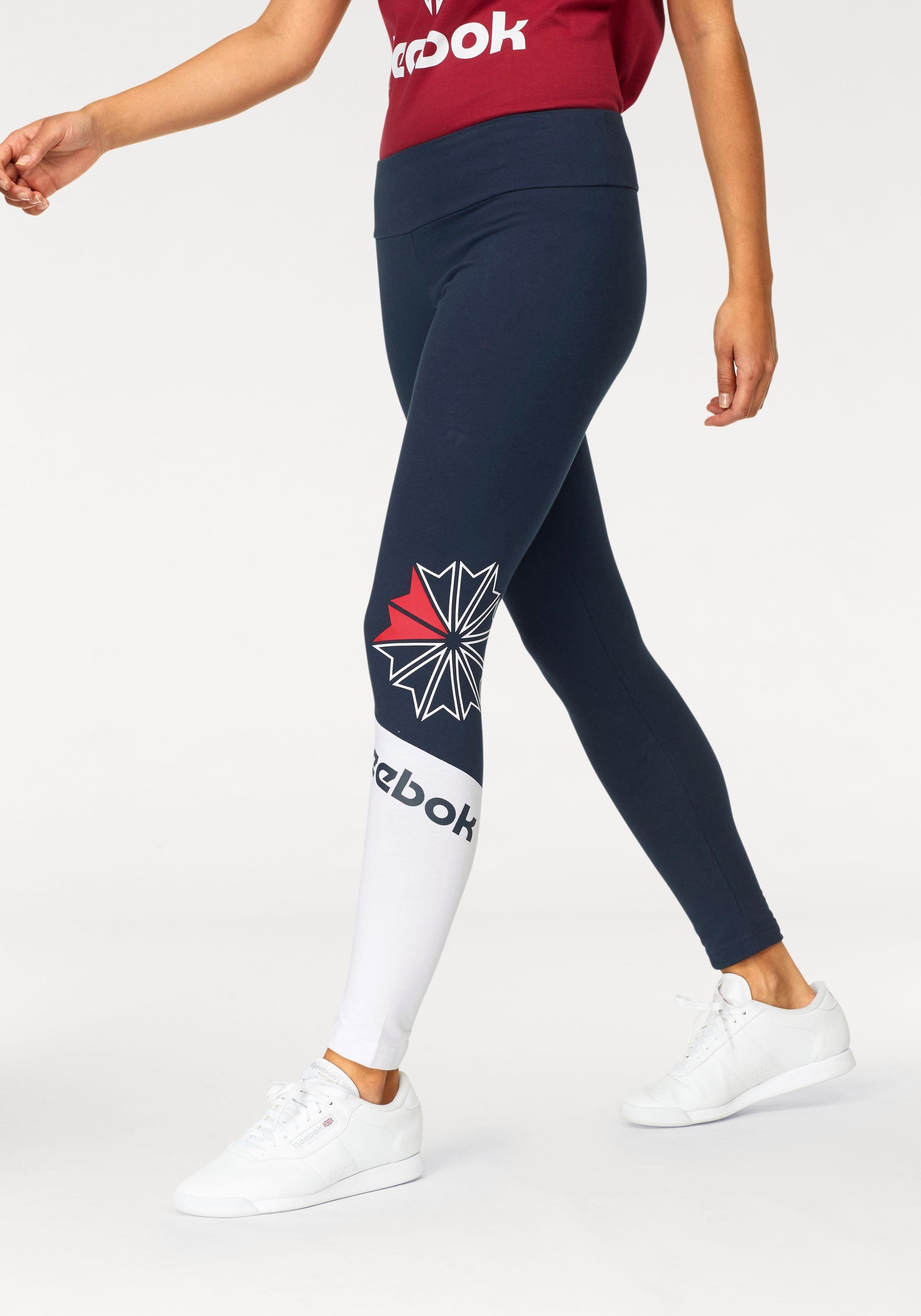 Reebok Classic V P Leggings für Damen Blau