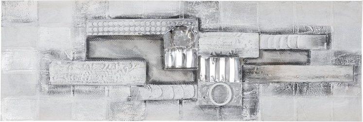 Ölgemälde »Artful«, Abstrakt, 150/50 cm, handgemalt
