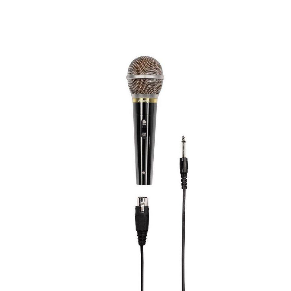 Hama Dynamisches Mikrofon DM 60 in Schwarz