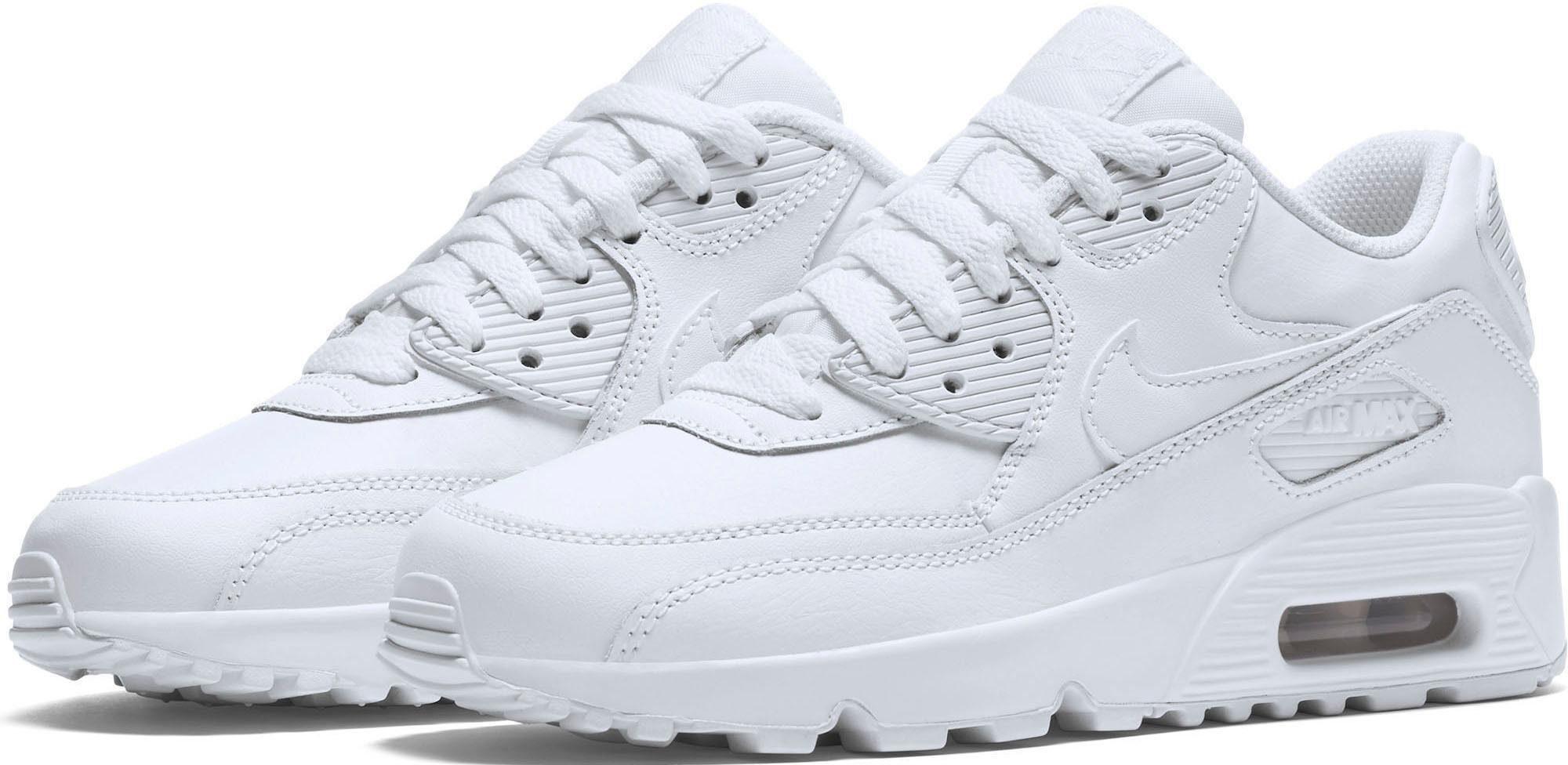 Nike Sportswear Air Max 90 LTR (GS) Sneaker  weiß