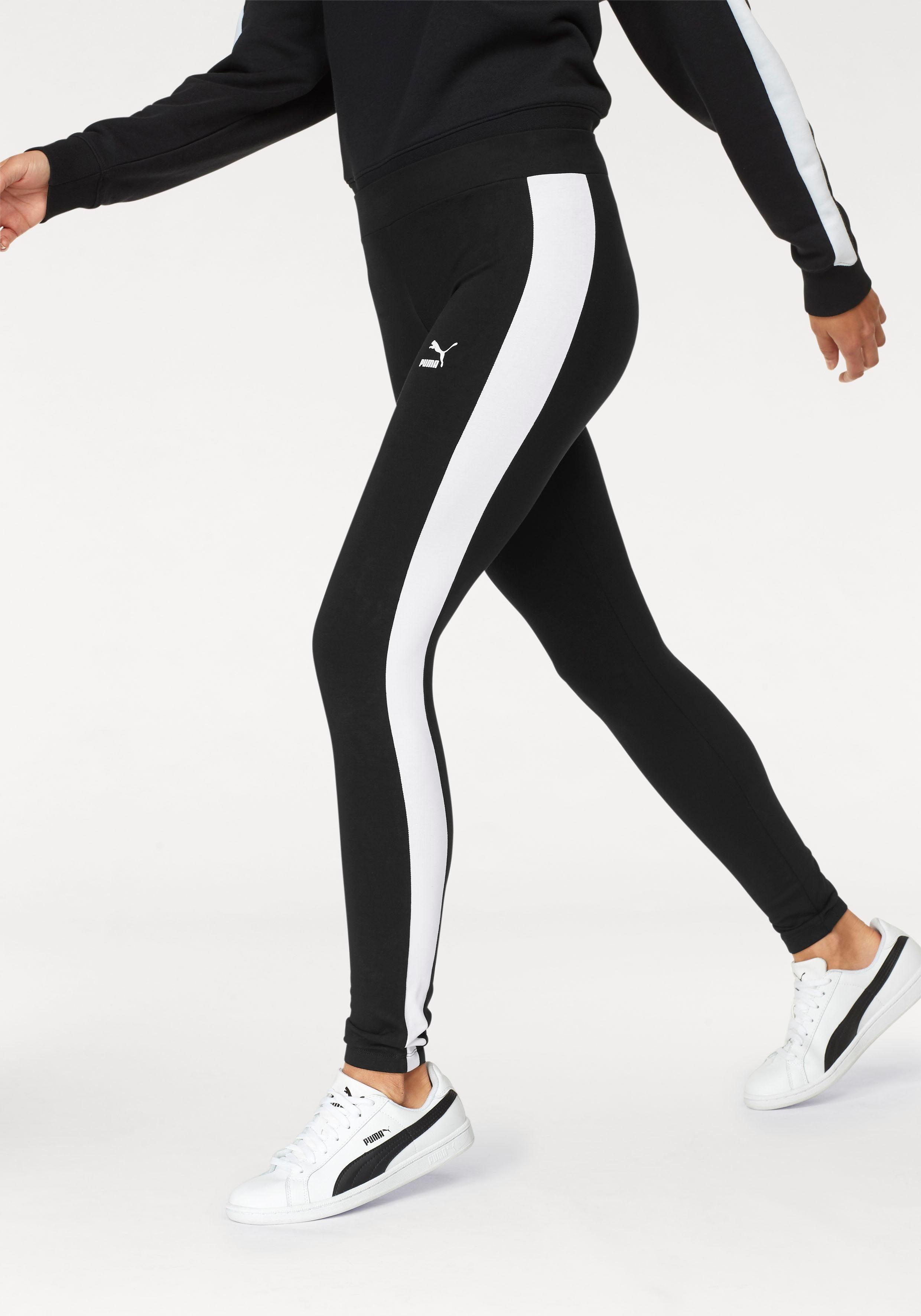 PUMA Leggings »CLASSICS LOGO T7 LEGGING«
