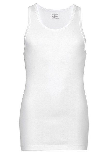 calvin klein -  Feinripp-Tanktop »ID Cotton« (2 Stück)