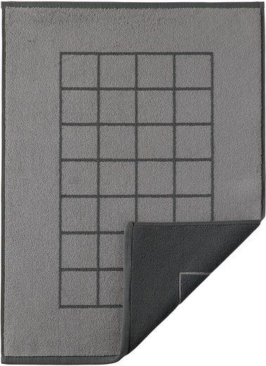 Badematte »Duo« Egeria, Höhe 8 mm, fußbodenheizungsgeeignet
