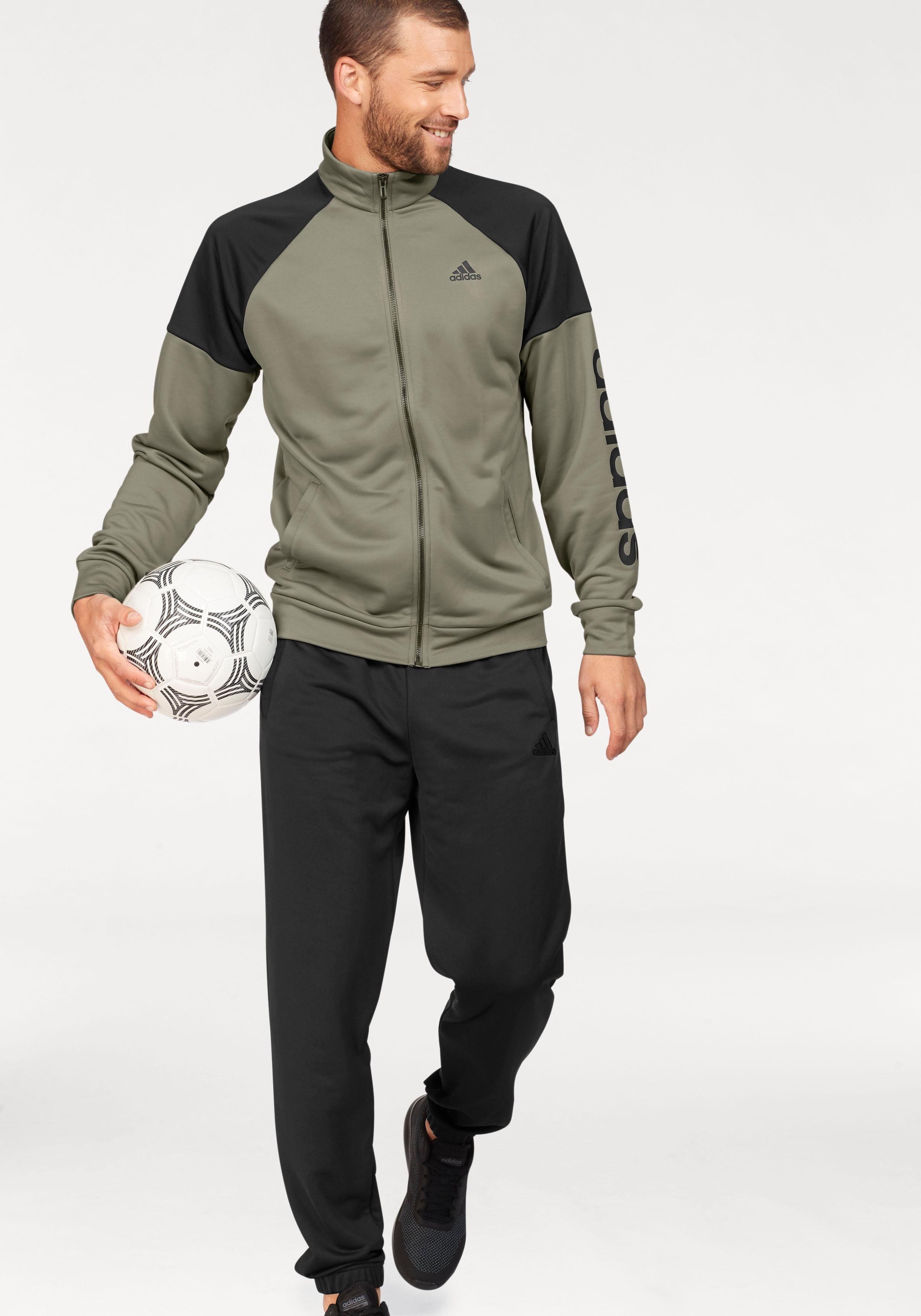 adidas Performance Trainingsanzug »TRACKSUIT POLYESTER MARKER« (Set, 2 tlg) online kaufen   OTTO