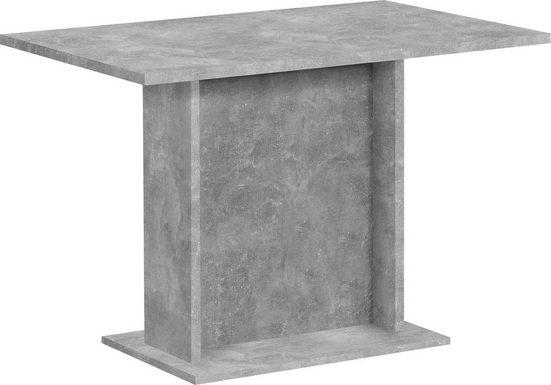 FMD Säulen-Esstisch, Breite 110 cm