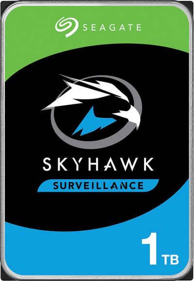 "Seagate »SkyHawk« HDD-Festplatte 3,5"" (1 TB) 180 MB/S Lesegeschwindigkeit, Bulk, inkl. 3 Jahre Rescue Data Recovery Services)"