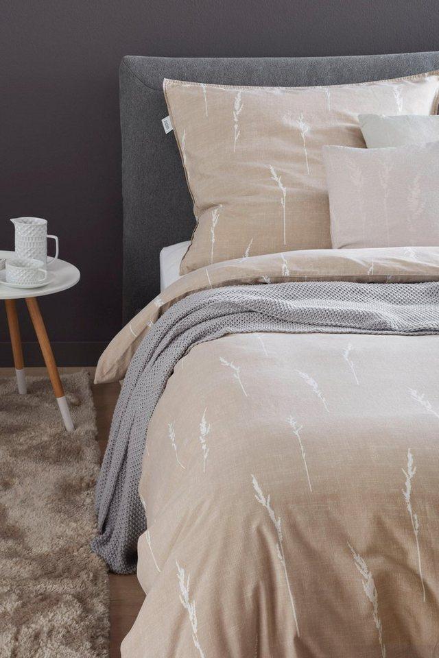 bettw sche gras sch ner wohnen kollektion mit feinem muster online kaufen otto. Black Bedroom Furniture Sets. Home Design Ideas