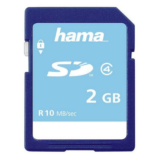 Hama Speicherkarte SD 2 GB Class 4 »SD Memory Card«