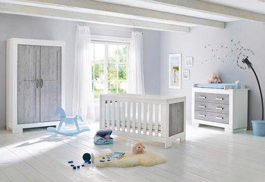 Pinolino Babyzimmer-Set (3-tlg.), Kinderzimmer, »Lolle, breit«