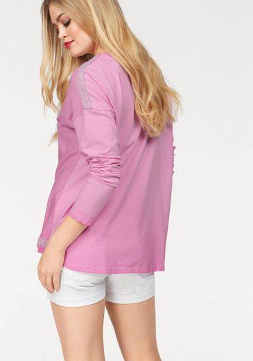 ausschnitt Zabaione pullover V »isabelle« V Zabaione qOFRwnxT8