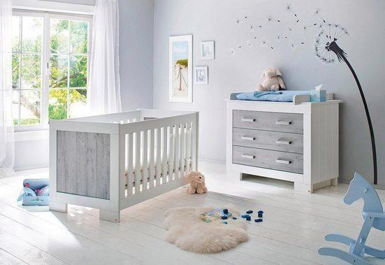 Pinolino Babyzimmer-Set (2-tlg.), Sparset, »Lolle, breit«