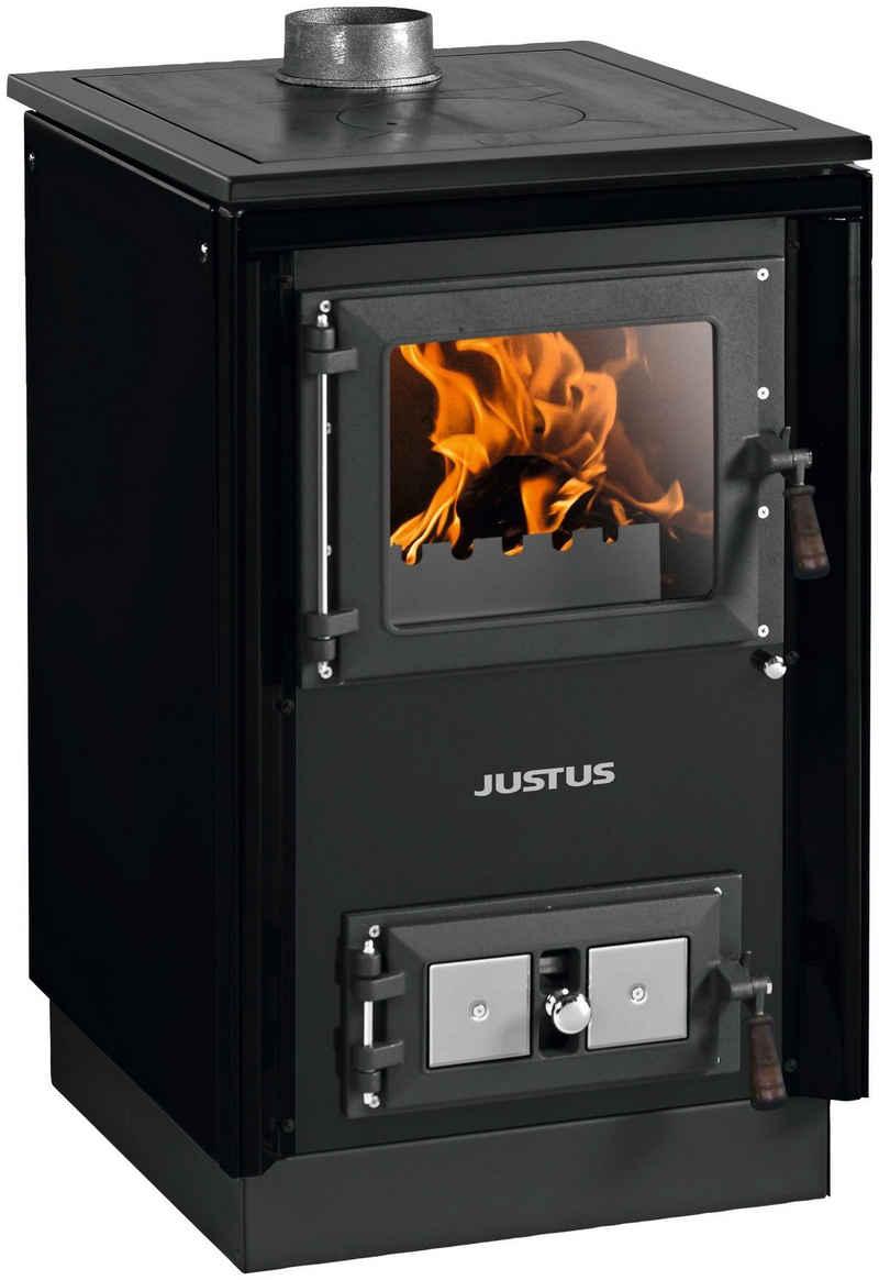 JUSTUS Festbrennstoffherd »Rustico-50 2.0«, 7 kW, Zeitbrand