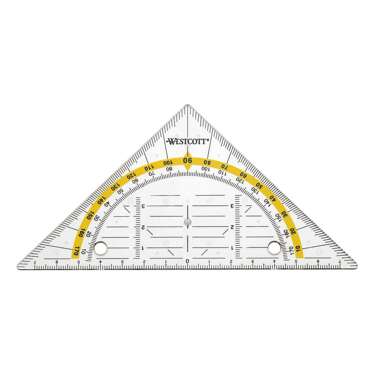 Westcott Geometriedreieck 14 cm