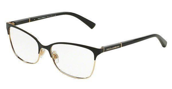 DOLCE & GABBANA Damen Brille »LOGO PLAQUE DG1268«