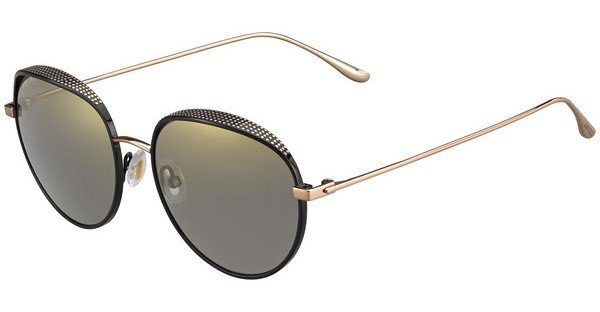 JIMMY CHOO Jimmy Choo Damen Sonnenbrille » ELLO/S«, schwarz, PL0/HJ - schwarz/grau
