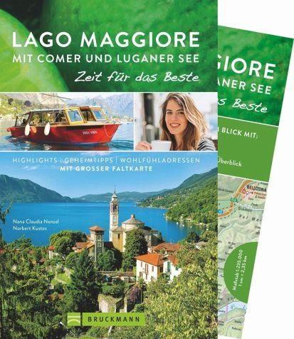 Broschiertes Buch »Lago Maggiore mit Comer und Luganer See - Zeit...«
