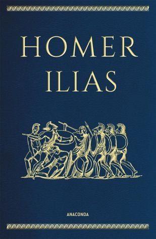 Buch mit Leder-Einband »Ilias«
