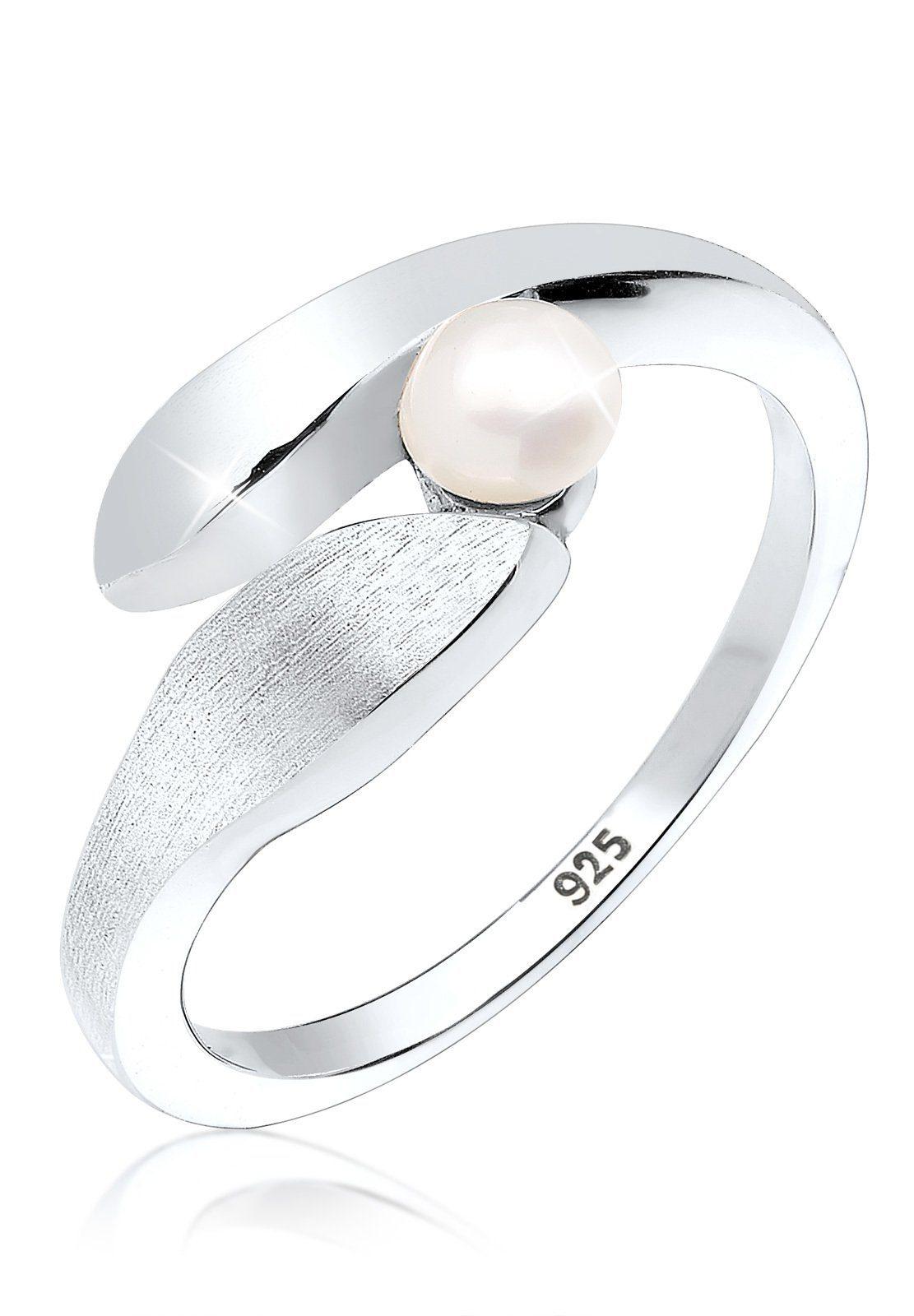 Perlenring Silber« »wickelring Online Süßwasserzuchtperle Elli 925 Kaufen clKuTF1J35