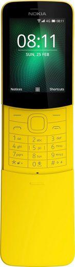 Nokia 8110 Handy (6 cm/2,4 Zoll, 4 GB Speicherplatz, 2 MP Kamera)