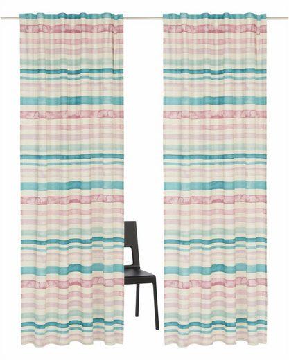 Vorhang »Garden Stripes«, Guido Maria Kretschmer Home&Living, Multifunktionsband (2 Stück)