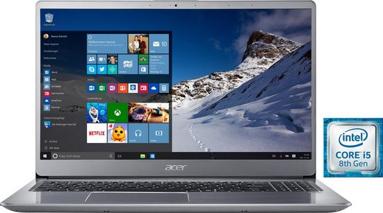 Acer SF315-52-51D4 Notebook (39,62 cm/15,6 Zoll, Intel Core i5, 1000 GB HDD, 16 GB SSD, inkl. Office 365 Personal (ESD)