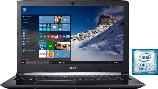 Acer Aspire 5 (A515-51-52L5) Notebook (39,62 cm/15,6 Zoll, Intel Core i5, 1000 GB HDD, 16 GB SSD, inkl. Office 365 Personal (ESD)