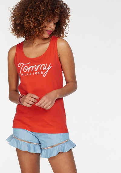 5ffc2a4772456 Tommy Hilfiger T-Shirt »DANA ROUND-NK GRAPHIC TANK«