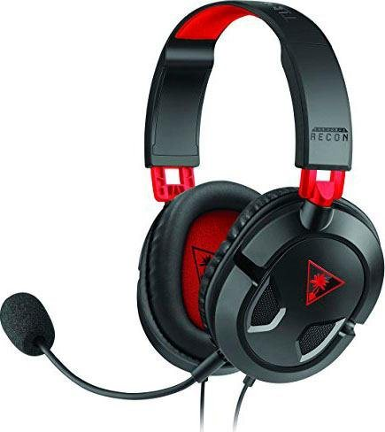 turtle beach recon 50 gaming headset gaming headset. Black Bedroom Furniture Sets. Home Design Ideas