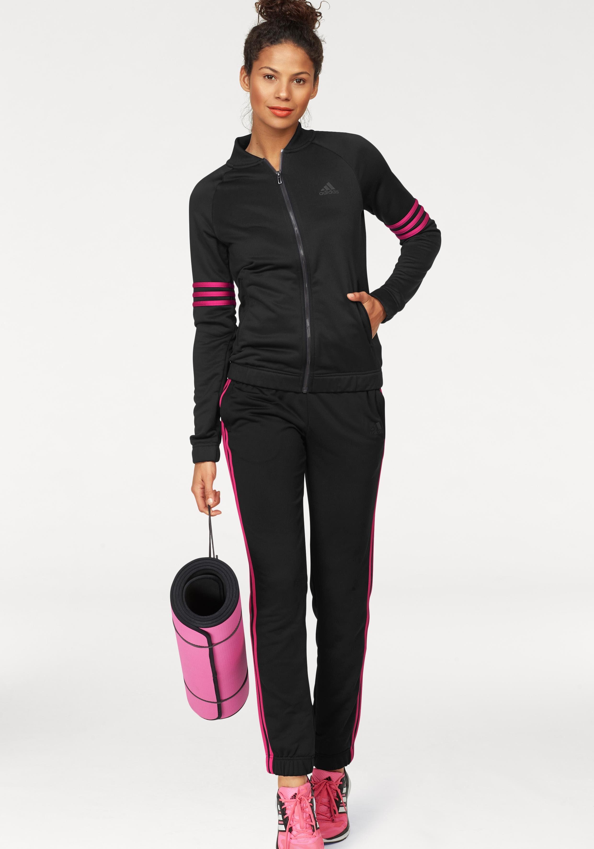 adidas Performance Trainingsanzug »WOMEN TRACKSUIT POLYESTER COSY« (Set, 2 tlg), auch in großen Größen online kaufen | OTTO