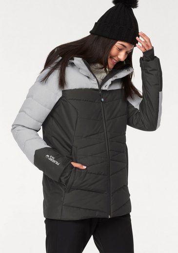 Polarino Skijacke mit Colorblocking