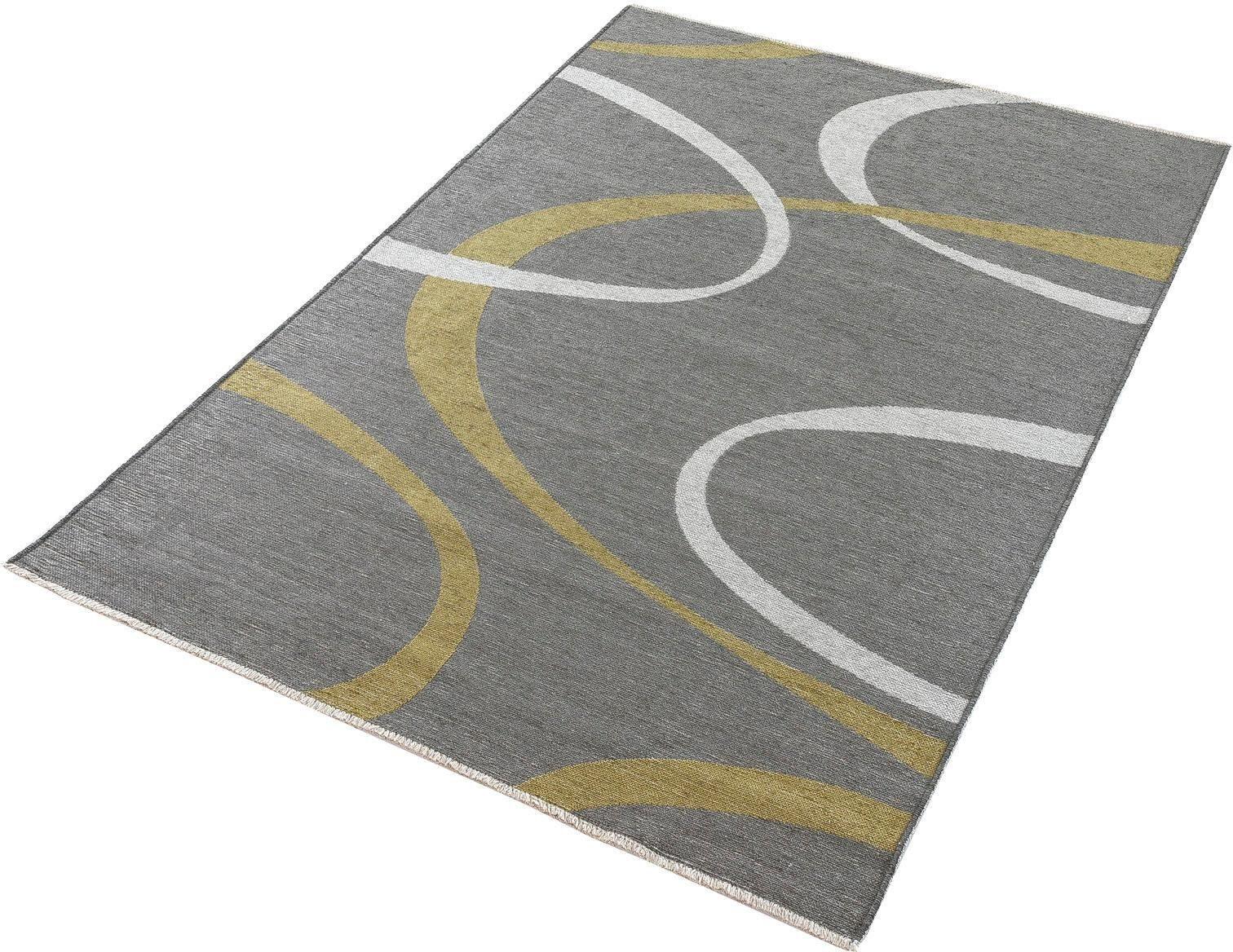 Läufer »Machka 3814«, Trend Teppiche, rechteckig, Höhe 7 mm, Wendeteppich