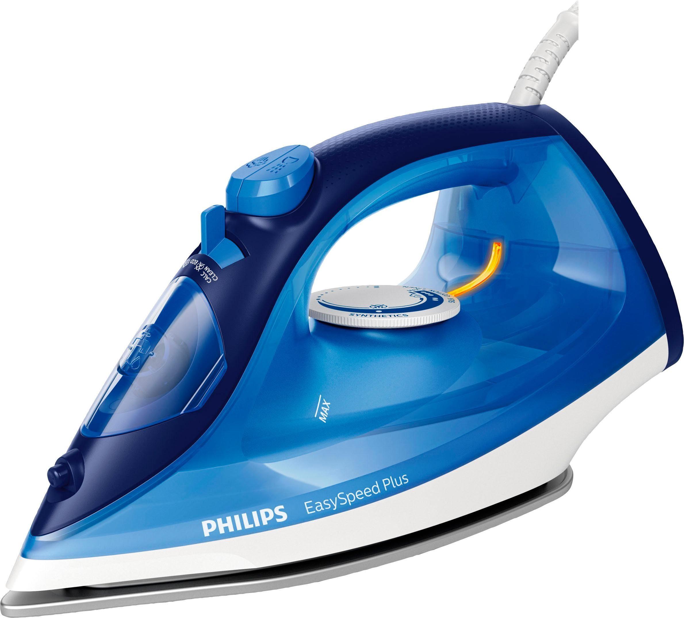 Philips Dampfbügeleisen EasySpeed Plus GC2145/20, 2100 W