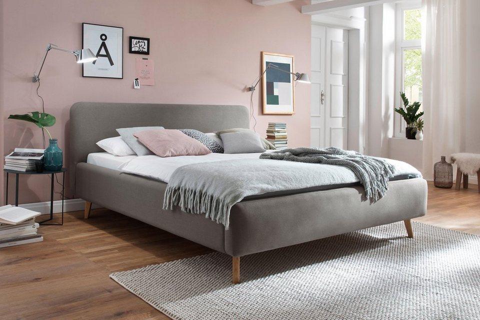 Meise.möbel Polsterbett, Skandinavien Landhausstil