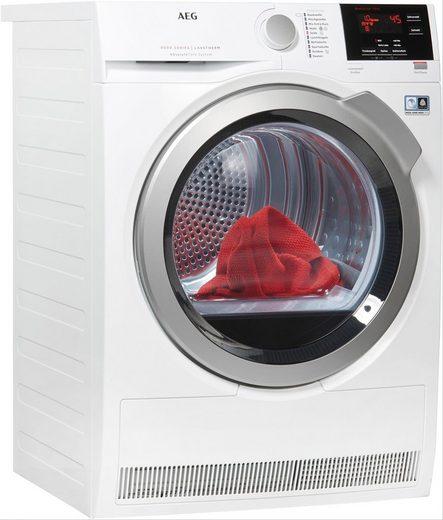 AEG Wärmepumpentrockner 8000 LAVATHERM LAVATHERM T8DBA3, 8 kg, AbsoluteCare für Wolle, Seide, Outdoor