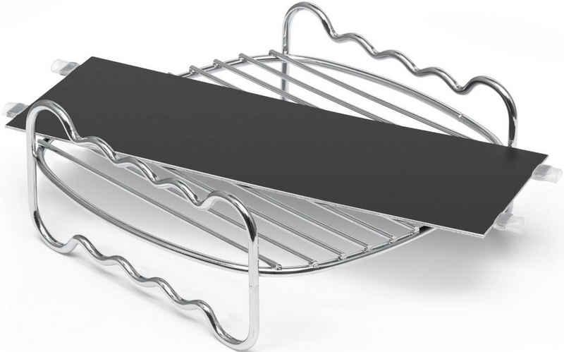 Philips Grillpfanneneinsatz »HD9950/00 Party Kit für Airfryer XXL«, Edelstahl