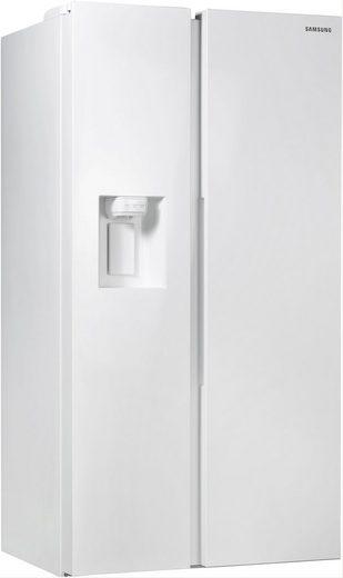 Samsung Side-by-Side RS8000 RS68N8231WW, 178 cm hoch, 91,2 cm breit, Family Hub – Display im Kühlschrank