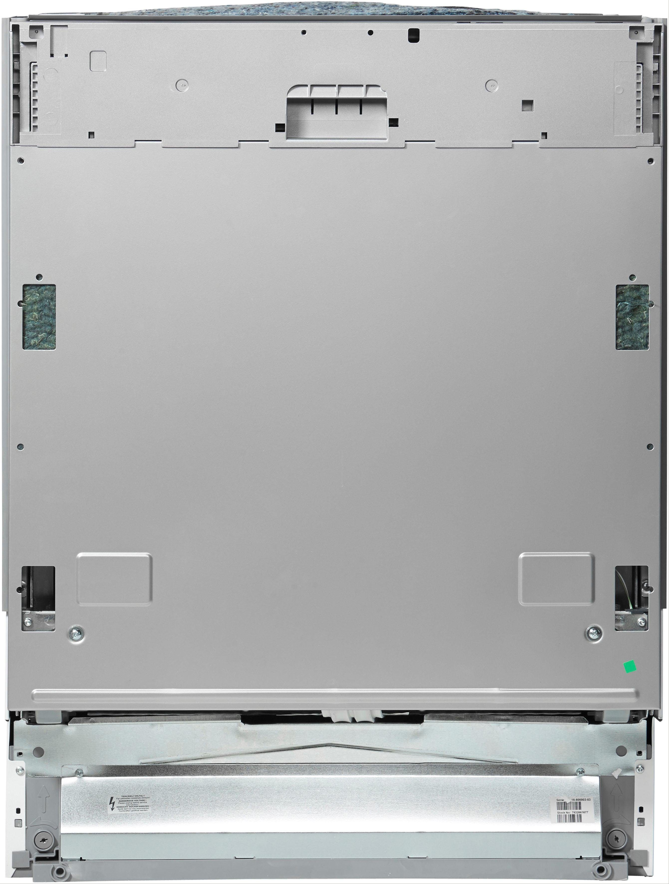 BEKO vollintegrierbarer Geschirrspüler DO55420, DVO55420W4Y, 9,5 l, 14 Maßgedecke