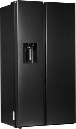 Samsung Side-by-Side RS8000 RS6GN8321B1/EG, 178 cm hoch, 91,2 cm breit, schwarz