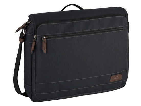 camel active Messenger Bag »Java«, mit praktischer Fächeraufteilung und gepolstertem Laptopfach