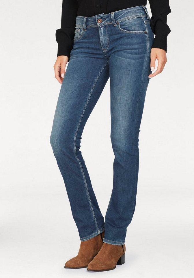 Pepe Jeans Straight-Jeans »SATURN« mit doppelter Gesäßtasche online ... 2c662312fe