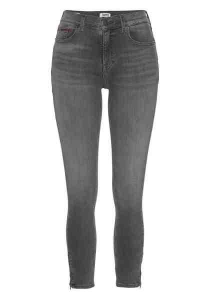 TOMMY JEANS 7/8-Jeans »Nora« mit Reißverschluss am Saum