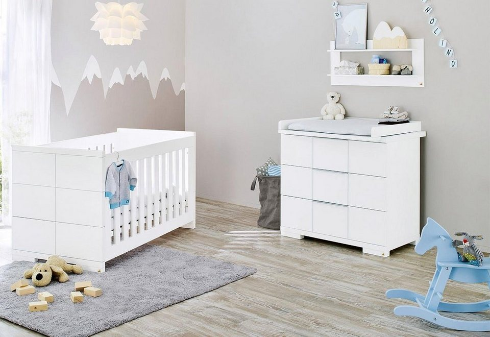 pinolino babyzimmer set 2 tlg sparset polar breit. Black Bedroom Furniture Sets. Home Design Ideas