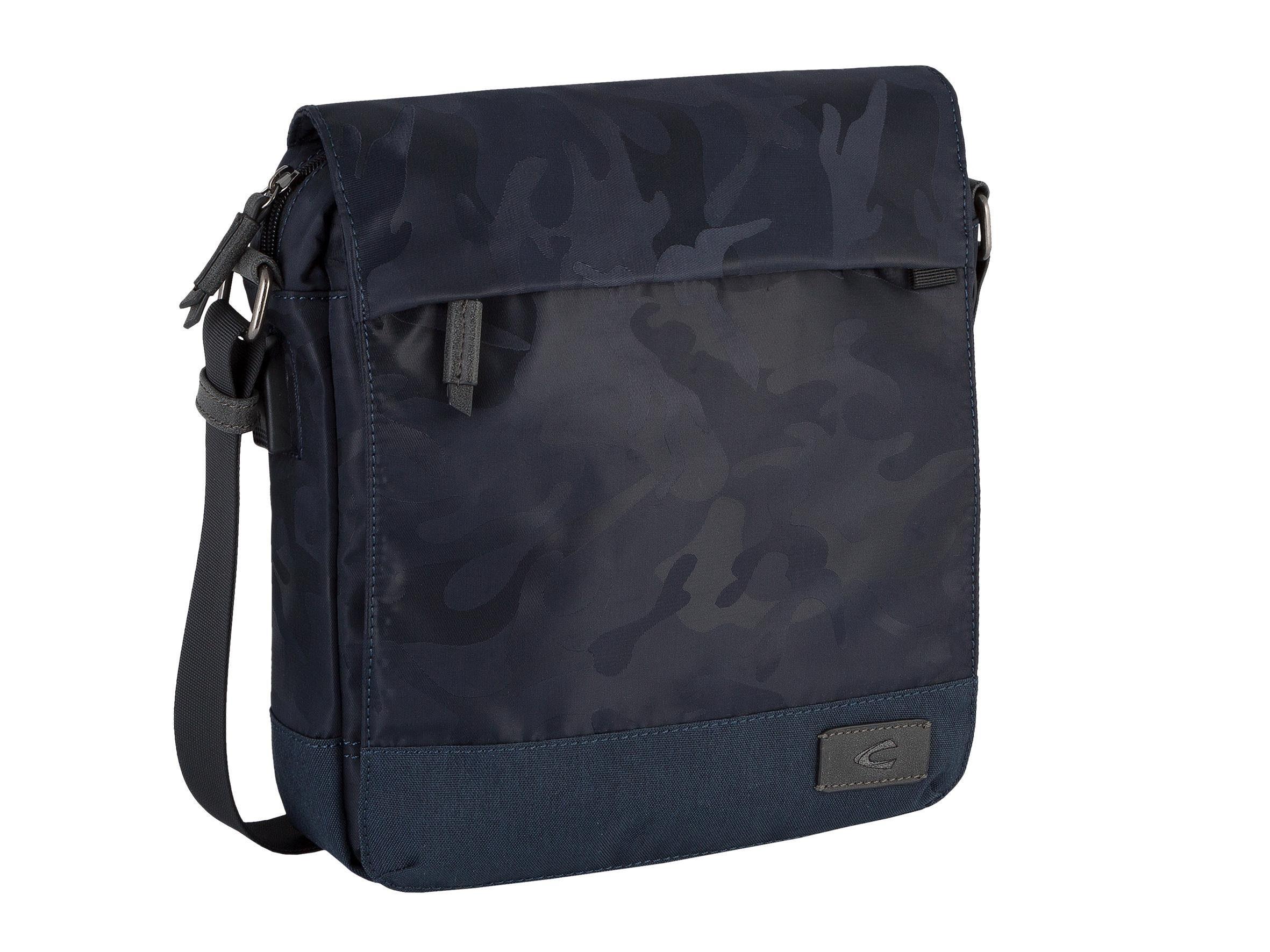 camel active Schultertasche »Kyoto«, crossbody, mit Laptopfach und Camouflage-Muster