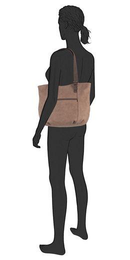 Shopper Abgesetzter Mit Ziernaht Gabor »gianna« 41qSF